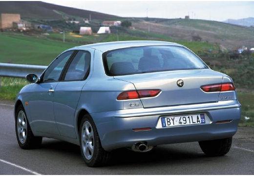 ALFA ROMEO 156 II sedan silver grey tylny lewy