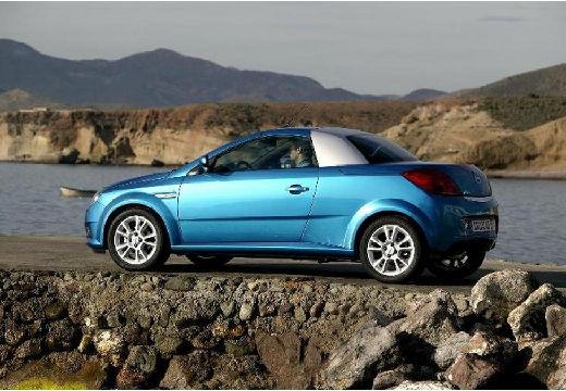 OPEL Tigra I roadster niebieski jasny tylny lewy
