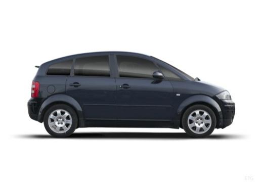 AUDI A2 hatchback boczny prawy