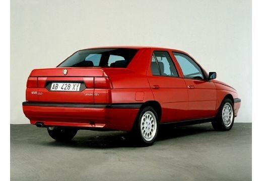 ALFA ROMEO 155 I sedan czerwony jasny tylny prawy