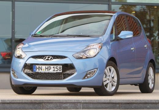 HYUNDAI ix20 hatchback niebieski jasny przedni lewy