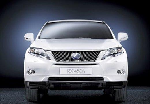 LEXUS RX II kombi biały przedni