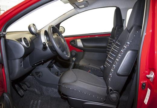 CITROEN C1 III hatchback czerwony jasny wnętrze