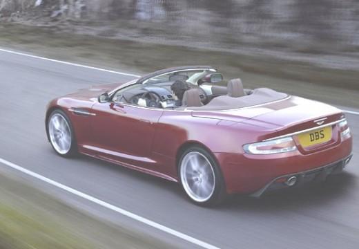 ASTON MARTIN DBS kabriolet czerwony jasny tylny lewy