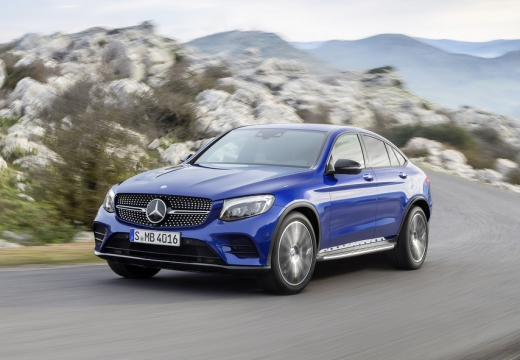 MERCEDES-BENZ GLC Coupe 220 d 4-Matic Hatchback C 253 I 2.2 170KM (diesel)