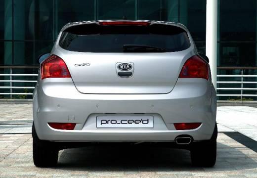 KIA Ceed Proceed II hatchback silver grey tylny
