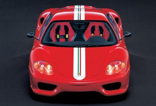 FERRARI 360 Spider kabriolet czerwony jasny przedni