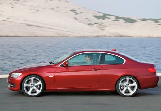 BMW Seria 3 E92 II coupe czerwony jasny boczny lewy