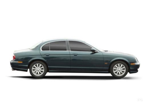 JAGUAR S-Type II sedan zielony boczny prawy