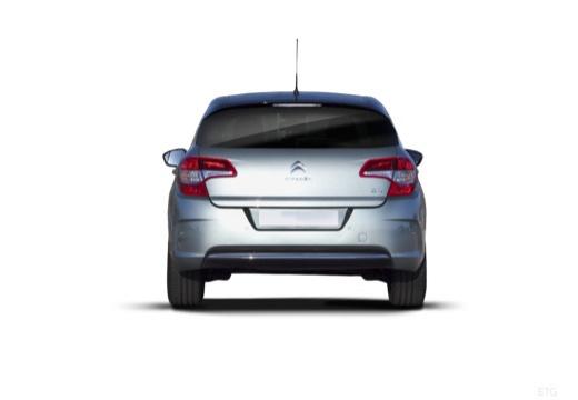 CITROEN C4 III hatchback silver grey tylny