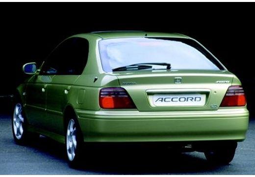 HONDA Accord Liftback hatchback zielony tylny lewy