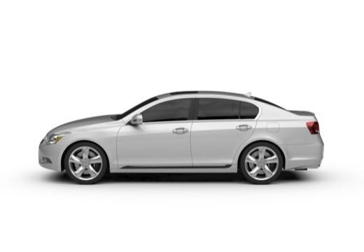 LEXUS GS III sedan boczny lewy