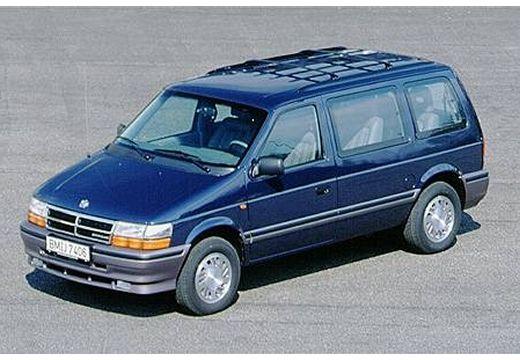 CHRYSLER Voyager Van I kombi niebieski jasny przedni lewy