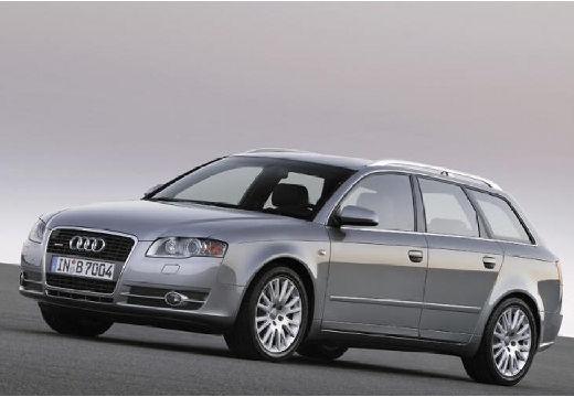 AUDI A4 kombi silver grey przedni lewy