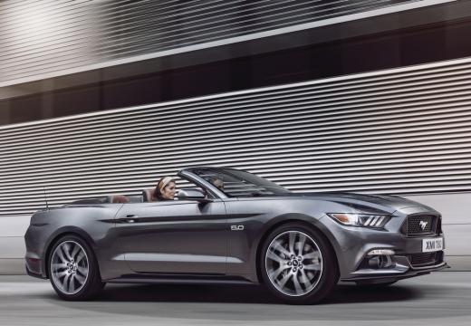 FORD Mustang kabriolet szary ciemny przedni prawy
