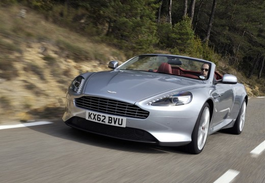 ASTON MARTIN DB9 Touchtronic GT Kabriolet Volante III 6.0 548KM (benzyna)