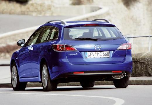 MAZDA 6 Sport III kombi niebieski jasny tylny lewy