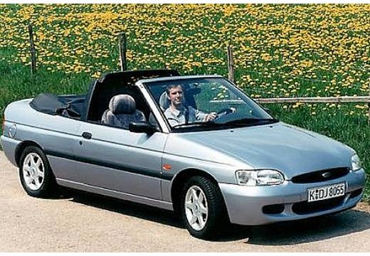FORD Escort kabriolet silver grey przedni prawy
