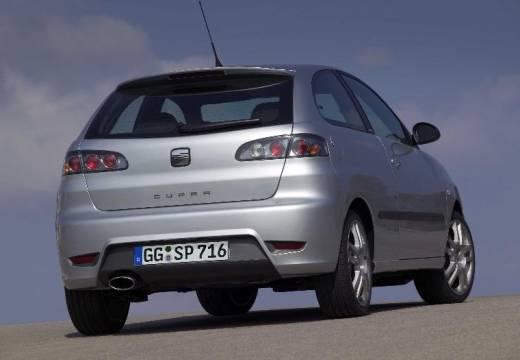 SEAT Ibiza IV hatchback silver grey tylny prawy