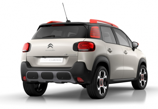 CITROEN C3 Aircross hatchback tylny prawy