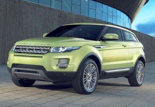 LAND ROVER Range Rover kombi zielony przedni lewy