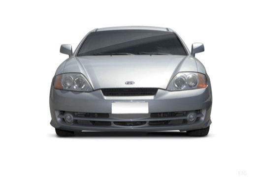 HYUNDAI coupe silver grey przedni