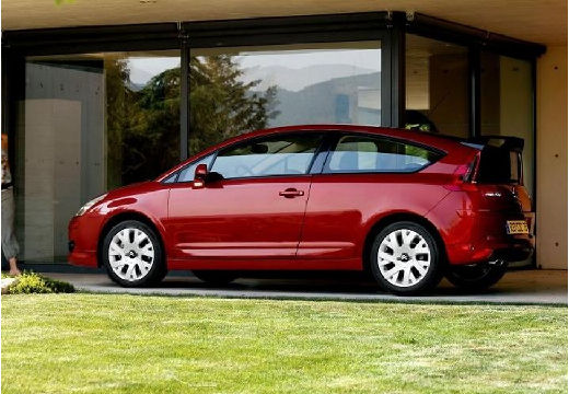 CITROEN C4 hatchback czerwony jasny tylny lewy