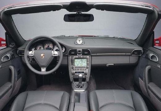 PORSCHE 911 Cabrio 997 kabriolet bordeaux (czerwony ciemny) tablica rozdzielcza