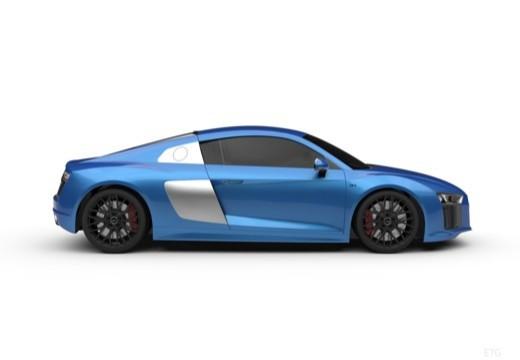 AUDI R8 coupe boczny prawy