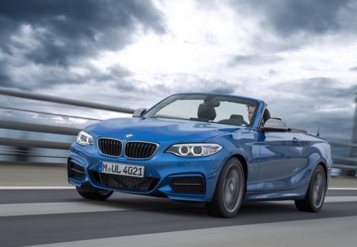 BMW Seria 2 Cabrio F23 I kabriolet niebieski jasny przedni lewy