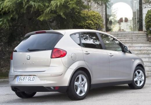 SEAT Altea II hatchback silver grey tylny prawy