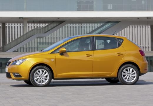 SEAT Ibiza VI hatchback żółty boczny lewy