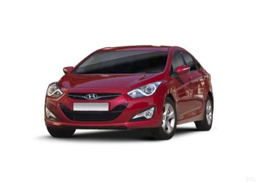 HYUNDAI i40 sedan czerwony jasny przedni lewy