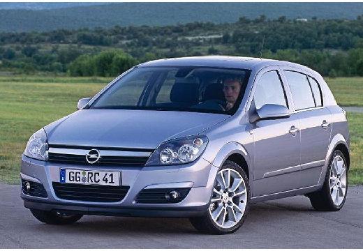 OPEL Astra III I hatchback silver grey przedni lewy