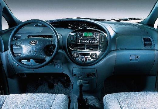Toyota Previa II van tablica rozdzielcza