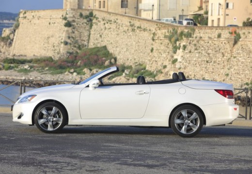 LEXUS IS C kabriolet biały boczny lewy