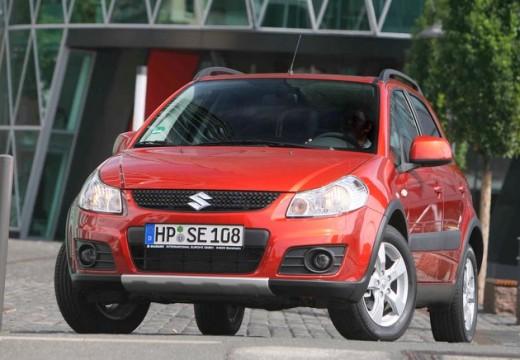 SUZUKI SX4 II hatchback czerwony jasny przedni lewy
