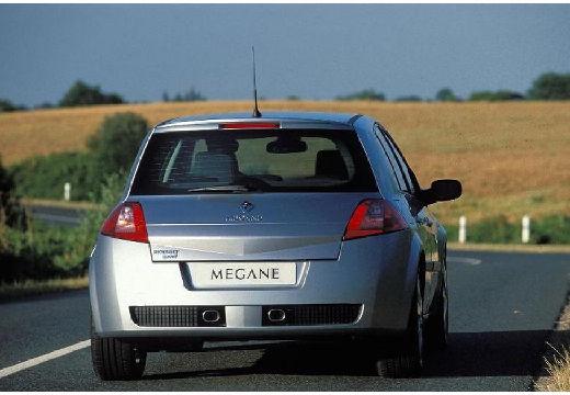 RENAULT Megane II I hatchback silver grey tylny prawy