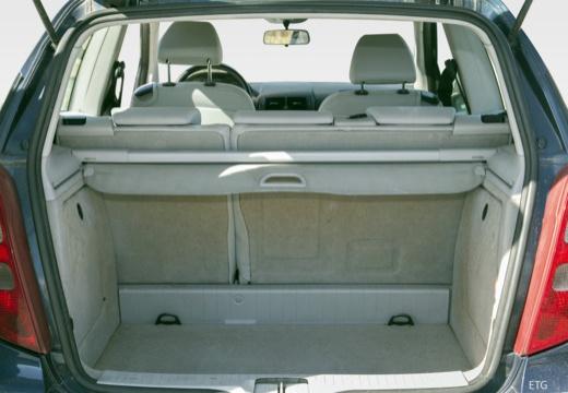MERCEDES-BENZ Klasa A W 169 I hatchback przestrzeń załadunkowa