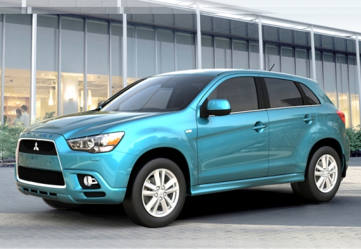 MITSUBISHI ASX 1.8 DID Instyle ASG Hatchback I 116KM (diesel)
