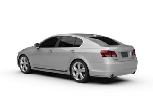 LEXUS GS III sedan tylny lewy