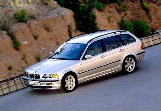 BMW Seria 3 Touring E46 kombi silver grey przedni lewy