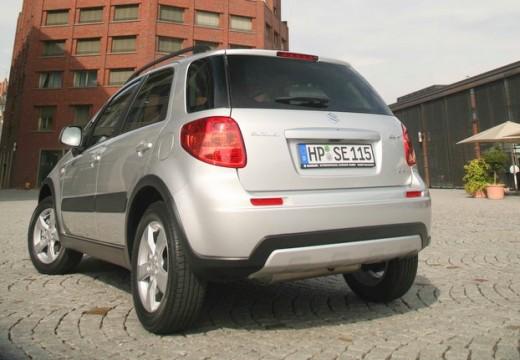 SUZUKI SX4 II hatchback silver grey tylny lewy
