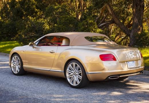 BENTLEY Continental GTC II kabriolet beige tylny lewy