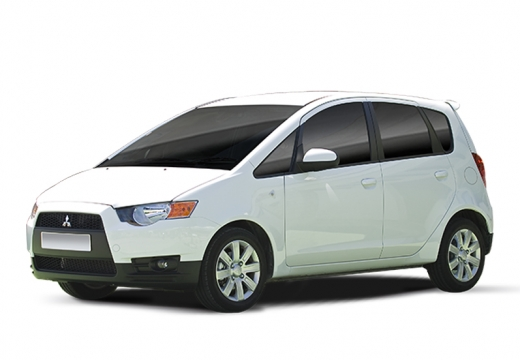 MITSUBISHI Colt VI hatchback biały