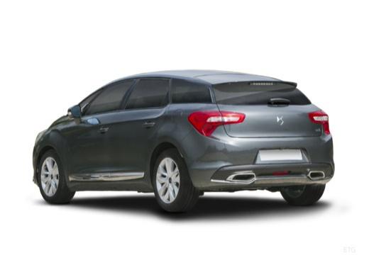 CITROEN DS5 hatchback szary ciemny tylny lewy