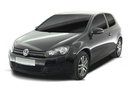 VOLKSWAGEN Golf VI hatchback czarny