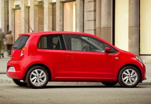 SEAT Mii I hatchback czerwony jasny tylny prawy