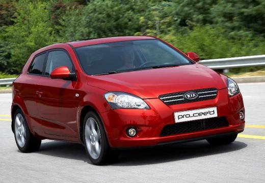 KIA Ceed Proceed II hatchback czerwony jasny przedni prawy