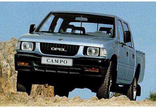 OPEL Campo pickup niebieski jasny przedni lewy